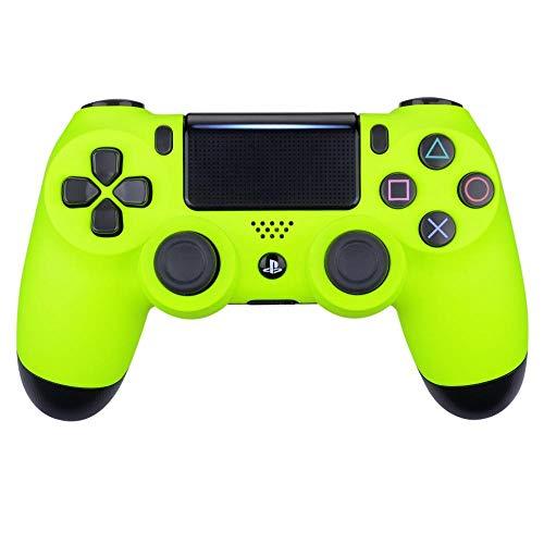 Controller Monkeys - PS4 Oberschale für JDM-040 /-041 /-030 /-050 /-055 Controller - Soft Touch (Neon Gelb) Neon Soft Shell