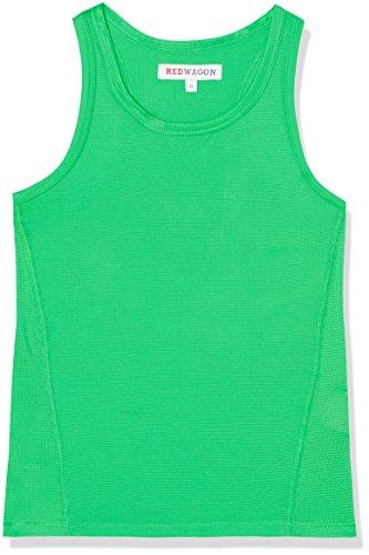 RED WAGON Camiseta sin Mangas para Niños, Verde (Apple Green), 7 años