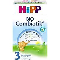 Hipp Bio Combiotik 3 Folgemilch - ab 10. Monat, 5er Pack (5 x 600g)
