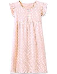 1aaad7930 HOYMN Chemise de Nuit Pyjama pour Fille 3-13ans Robe de Nuit à Manches  Longues