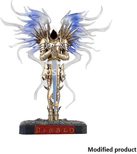 MASpielzeug Diablo 3 Erzengel Tyrael Statue Dunkel Seraphim-Engel - Hohe 10,6 Inches -
