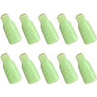 FULLONG 10stücke Acryl Kunststoff Schleife Nail Art Soak Off Remover Clip Werkzeug(grün) preisvergleich bei billige-tabletten.eu
