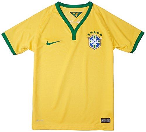 Nike Brasilien Heim Fußball-Shirt Kinder (Heim Brasilien Fußball-shirt)