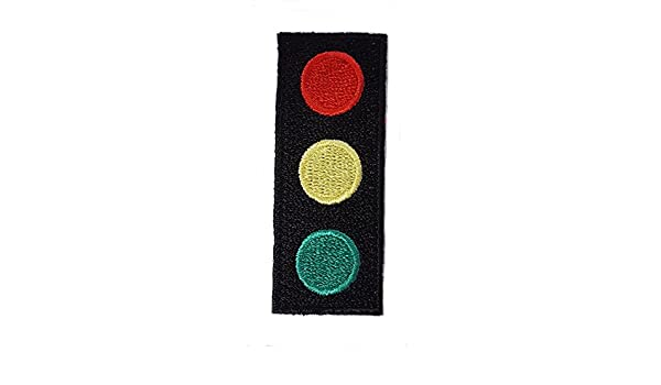 049dd020d3d Life Aquatic Team Zissou Traffic light Logo Embroidered Costume Cap Patch   Amazon.co.uk  Clothing
