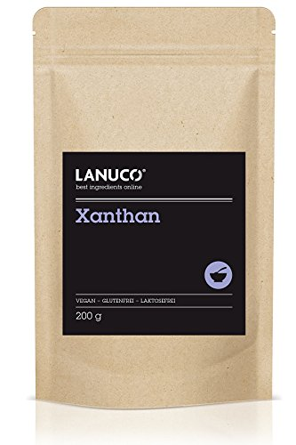 Xanthan - 200g, Premium, Feines Pulver in Lebensmittelqualität, Stabilisator, Bindemittel, Verdickungsmittel, Molekularküche - Xanthum Gum