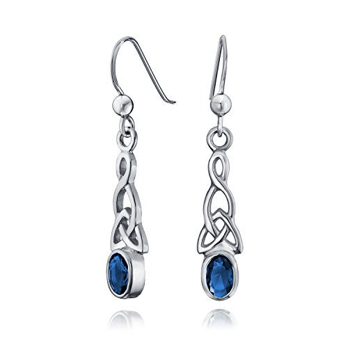 bling-jewelry-oval-simulated-sapphire-glass-celtic-knot-silver-earrings