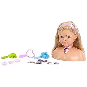 Rosa Toys Busto Cabeza Muñeca Peinados, (2802) , color/modelo surtido
