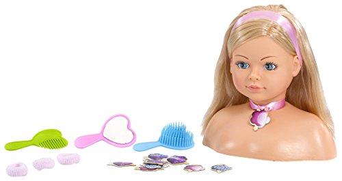 Rosa Toys Busto Cabeza Muñeca Peinados, (2802)