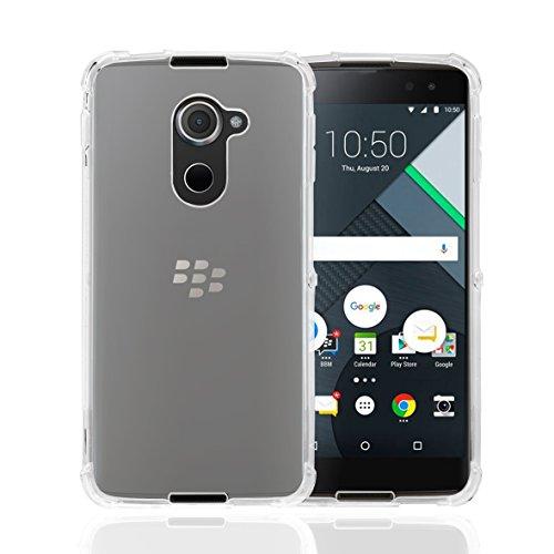 32nd BlackBerry DTEK60 Fall, Zäh Gel Silikon Hülle - Transparent