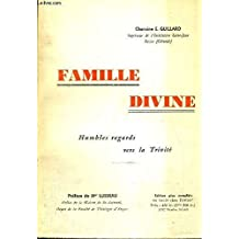 Famille divine, humbles regards vers la Trinité.