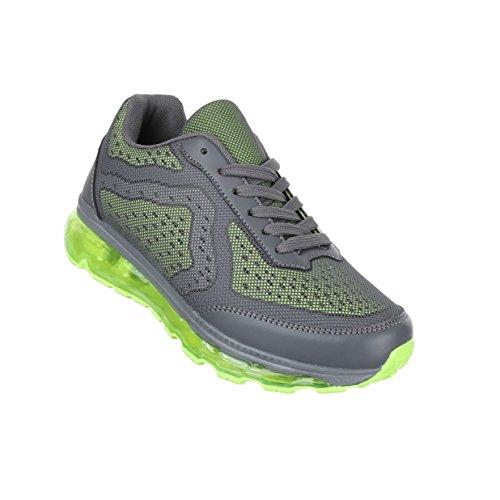 Damen Schuhe Freizeitschuhe Sneakers Turnschuhe Grau