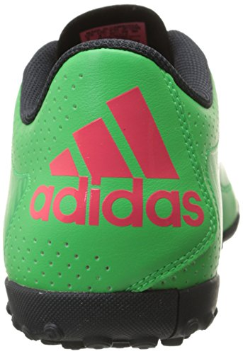 Adidas Performance X 15.3 Scarpe da calcio, Flash Verde S15 / S15 lampo rosso / grigio scuro, 7.5 M Flash Green S15/Flash Red S15/Dark Grey