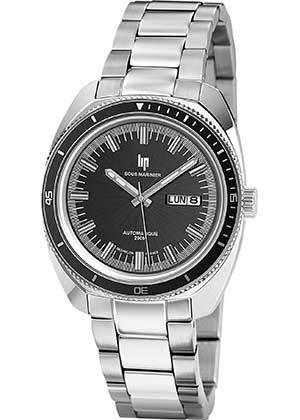 Lip Homme Uhr Analogique Automatik mit Acier Armband 671357