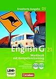 English G 21. Erweiterte Ausgabe D5. Workbook mit Lösungen, mit CD-ROM und CD-Lehrerfassung. Band 5, 9. Schuljahr