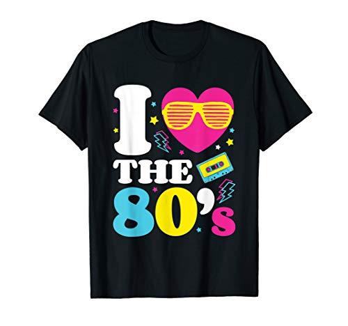 Meeräsche Kostüm - Ich liebe die 80er Jahre 1980er Jahre Kostüm T-Shirt