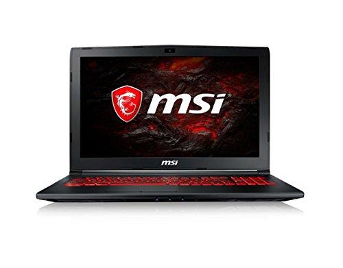 MSI GL62M 7RDX-2203XES - Ordenador portátil DE 15.6' FHD (Kabylake i5-7300HQ, RAM de 8 GB DDR4, HDD de 1 TB, Nvidia GeForce GTX 1050, sin Sistema operativo) Color Negro