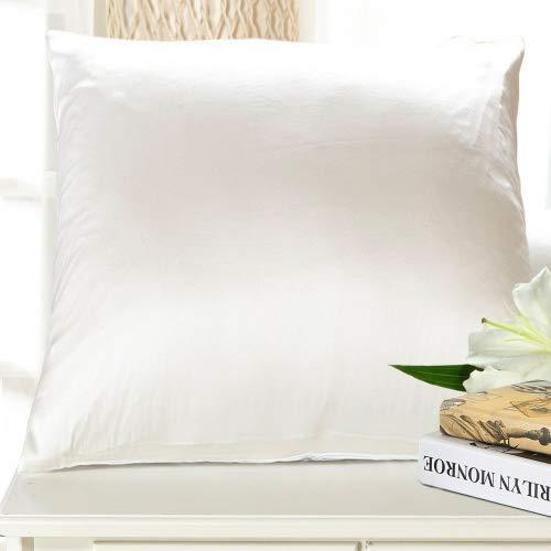 Lilysilk Seide Kissenbezug Kissenhülle Baumwolle mit Reißverschluss (Seide, Bett, Kissen)