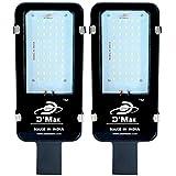 D'Mak™ 50 Watt Waterproof White Street Light Outdoor Industrial LED Light Pack of 02 with 2 Year Warranty -   street light     waterproof street light  