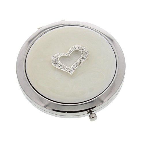 Placcato argento Donna-Specchio Make un fantastico regalo San Valentino/Festa della mamma