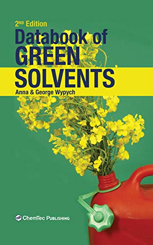 Databook of Green Solvents (English Edition)