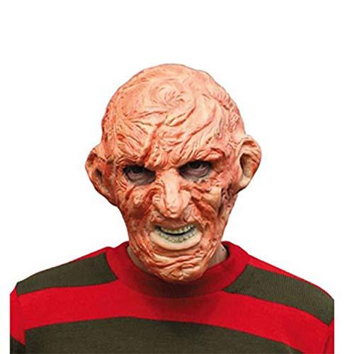 (Islander Fashions Adult Scary verbrannt Mann Halloween Maske Mens Fancy Horror Party Wear Zubeh�r Einheitsgr��e)