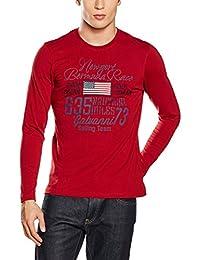 GALVANNI Hewitt, Camiseta de Manga Larga para Hombre