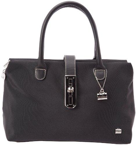La Bagagerie Shopping X, Sac porté main - Noir (Noir/Noir), Taille Uniqu