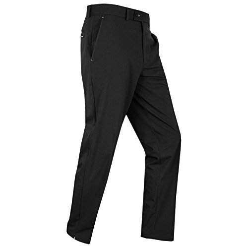 Stromberg Wintra 2018 Mens WinterTech 2.0 Thermal Golf Trousers Water Resistant Black 32x31 Stromberg Golf