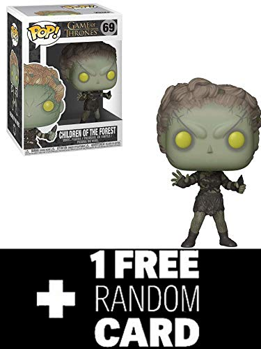 FunkoPOP Game of Thrones: Children of The Forest - Vinyl Figure 69 + 1 Random Official Game of Thrones Trading Card New