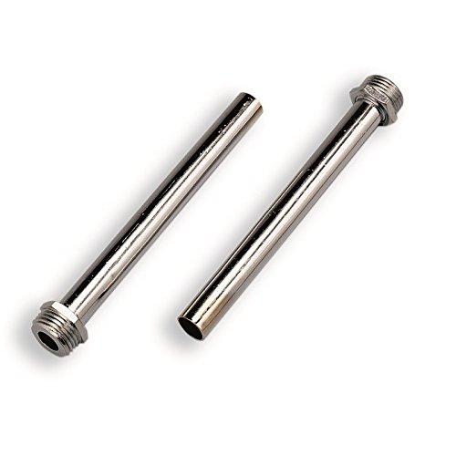 Geglüht Schlauch ('Tuben in Kupfer geglüht chrom, Tuben in Kupfer Durchmesser mm.14mm Länge.150Stück geschweißt M 1/2(2Stück-Packung))