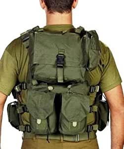 Officer Swat Military Tactical Vest Cordura Combat Harness Distributed-Load System Size S Small Israel Defence Force Tested, made in Israel