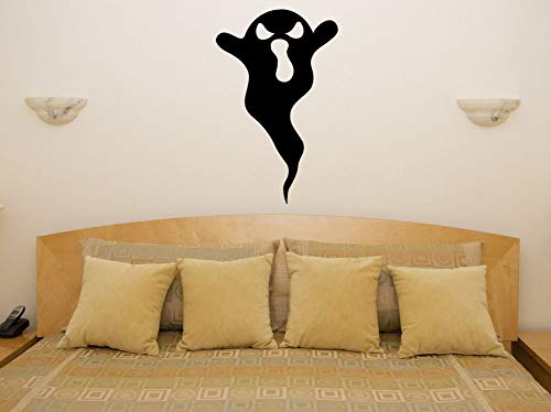 Removable Ghost Spooky Scarey Boo Halloween Bedroom Decal Wall Art Sticker Picture Home Decal Festival Showcase Glass Decor 56 X 91cm