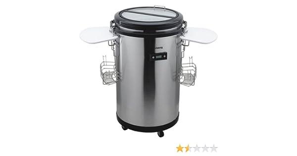 Mini Kühlschrank Für Draußen : H koenig bpo mini kühlschrank cm höhe transparenter
