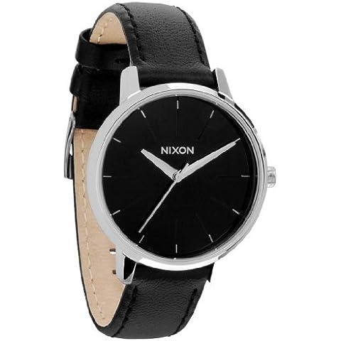 Nero The Kensington orologi in pelle di
