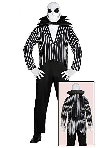ween Jack Skellington Kostüm für Erwachsene Large (42-44