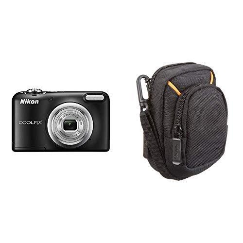 Nikon Coolpix A10Digitalkamera & AmazonBasics Kameratasche für Kompaktkameras, mittlere Größe Nikon Coolpix Point