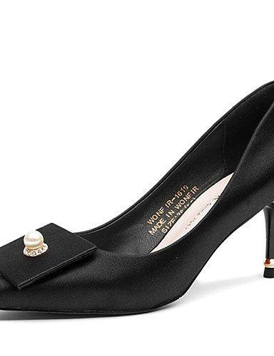 ShangYi Chaussures Femme - Mariage / Habillé / Décontracté / Soirée & Evénement - Noir / Vert / Rouge - Talon Aiguille - Talons - Talons - Black
