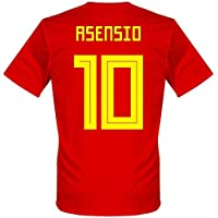 f7d87a9b0 Player Print - adidas Performance Spain Home Asensio 10 Shirt 2018 2019  (Fan Style Printing