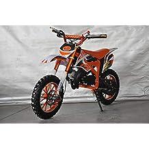 Mini Pitbike con motor de 49cc de 2 tiempos, XTM TEAM cross. Mini dirt