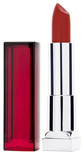 Pure Color Long Lasting Lippenstift (Maybelline New York Make-Up Lippenstift Color Sensational Lipstick Ravishing Rose / Kräftiges Rot mit pflegender Wirkung, 1 x 5 g)