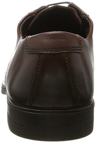 Ecco Melbourne, Derby Chaussures À Lacets Pour Homme Marron (vison)