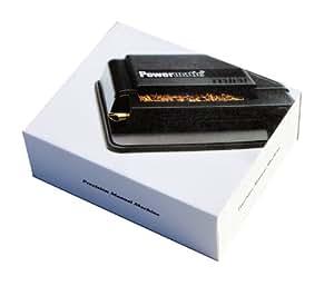 M&M MM Powermatic Mini Black - Handstopfmaschine Zigarettenstopf-Maschine, Kunststoff, schwarz 10 x 10 x 5 cm