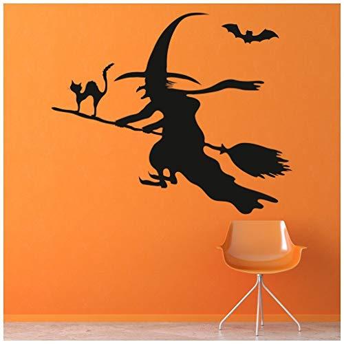 Fledermaus Wandtattoo Halloween Wand Sticker Scary Kinder Wohnkultur verfügbar in 5 Größen und 25 Farben Groß Blatt Grün ()