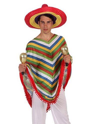 Mexikaner-Kostüm für Herren (Mexicaine Kostüm)