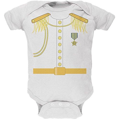 Prince Charming Kostüm weiß Soft Baby 1 Gepäckstück - 18-24 (Baby Kostüm Prince Charming)