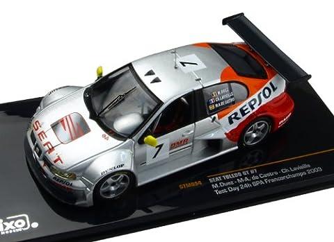Ixo - Gtm094 - Véhicule Miniature - Modèle À L'échelle - Seat Toledo Gt Test Day 24h De Francorchamps 2003 - Echelle 1/43