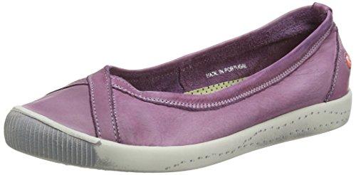 Softinos Isla Smooth, Zapatillas para Mujer, Azul (Navy), 40 EU