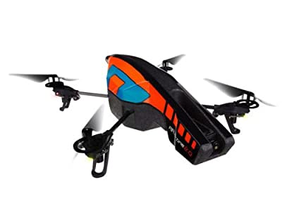 Parrot AR.Drone 2.0 with Outdoor Hull (Orange/ Blue) from Parrot