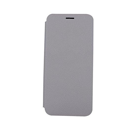 YHUISEN Galaxy S8 Plus case, Luxus Ultra Thin Flip PU Ledertasche mit Ständer für Samsung Galaxy S8 Plus ( Color : Rose ) Gray