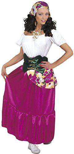 Kostüm Esmeralda - Widmann 39412-Kostüm Zigeuner, in Größe M